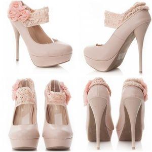 Diva Lounge Lorane Nude heels